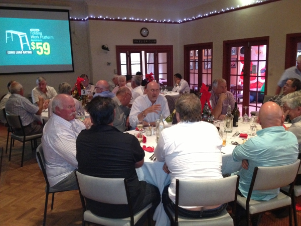 Mount Eliza Country Club Gentlemens Christmas Lunch